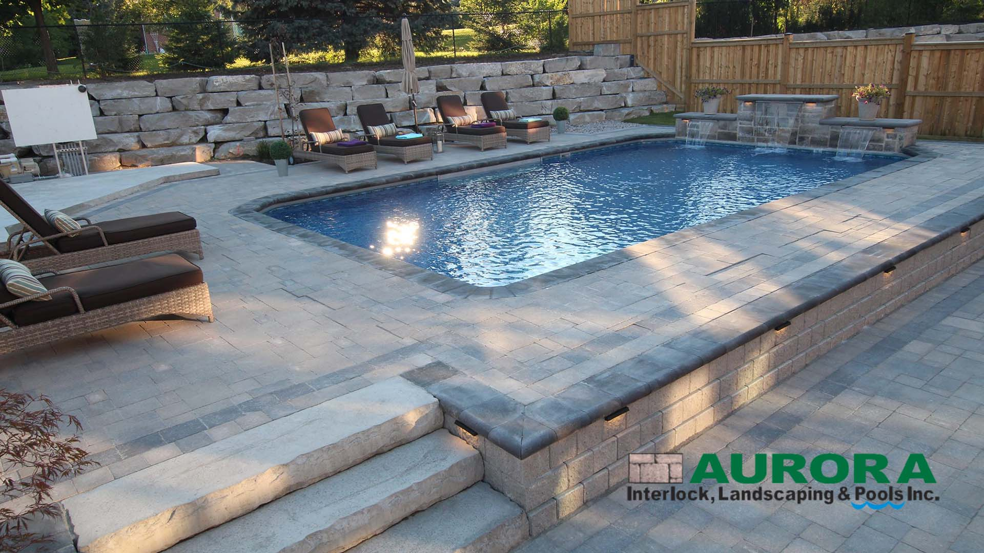 Pool Installations Aurora Interlock