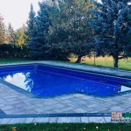 Richmond Hill inground pool