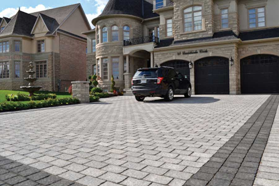 Driveways & Walkways - Landscaping Aurora Interlock